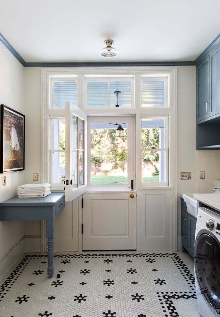 Tim Garner Laundry Room at House of Turquoise