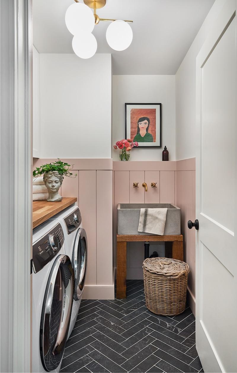 Vanessa Francis laundry room.