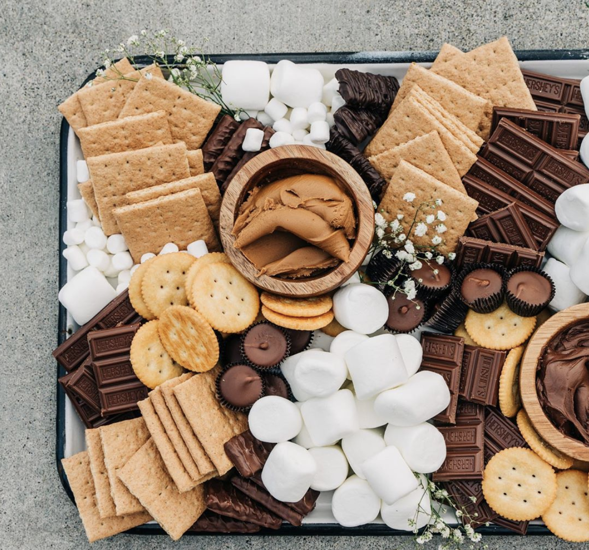 S'More Charcuterie Board at Jenny Cookies
