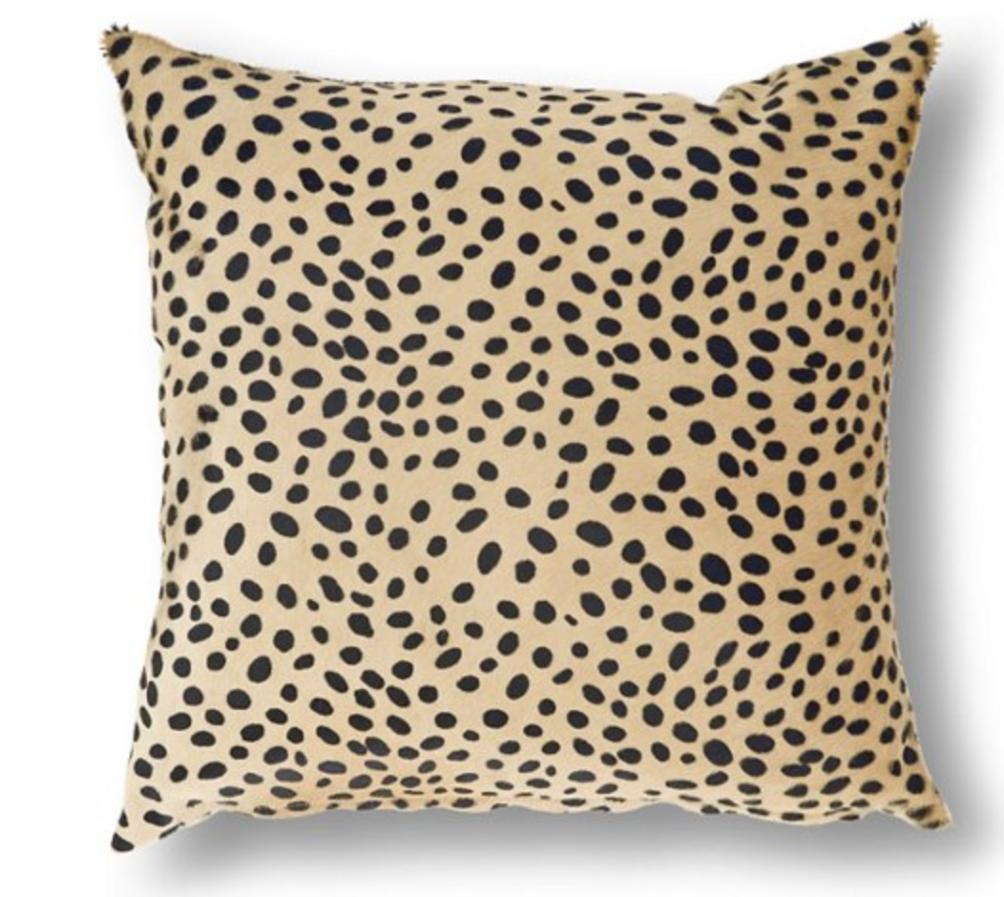 Cheetah pillow one kings lane
