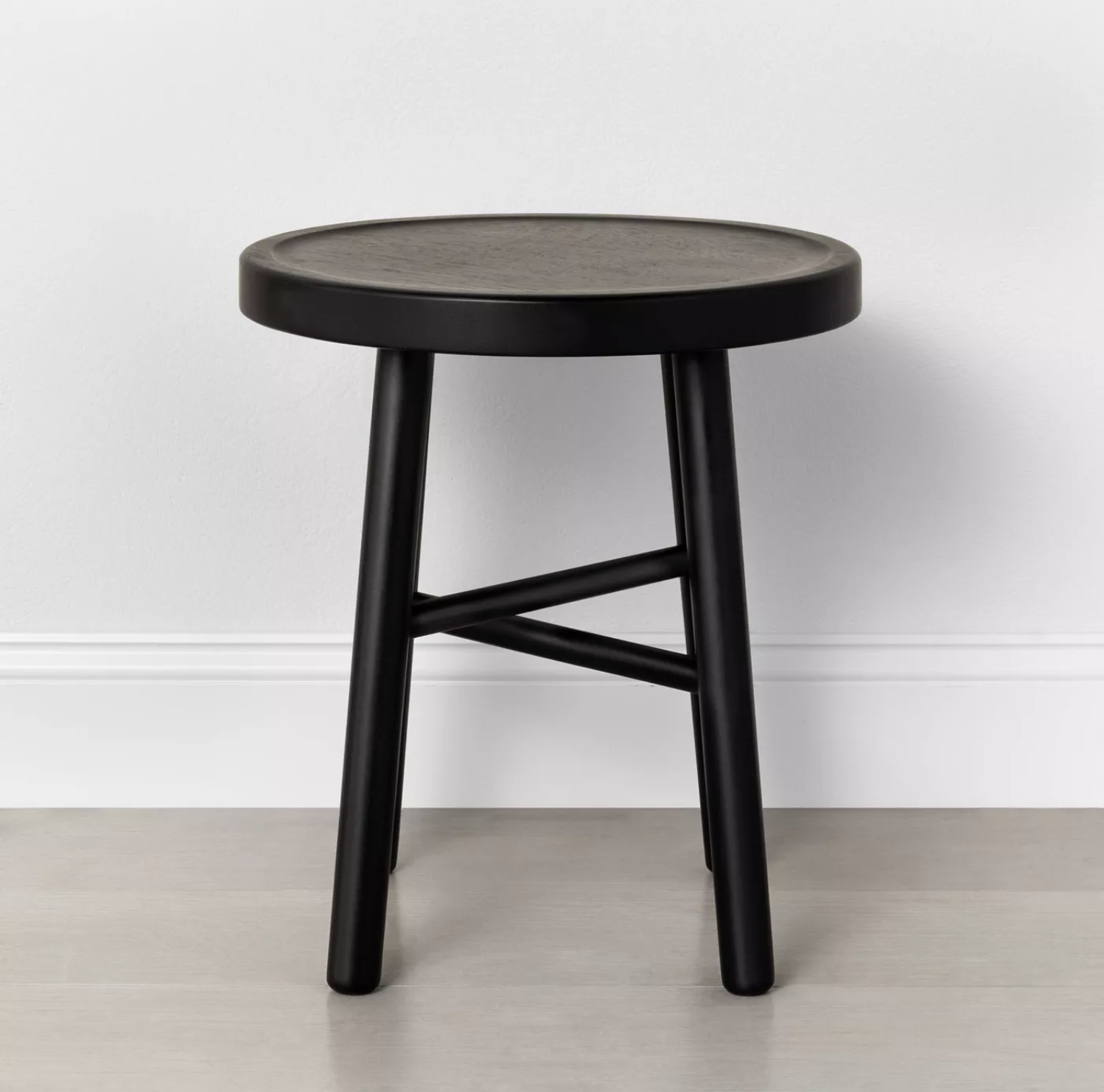 Target side table stool for a fall porch