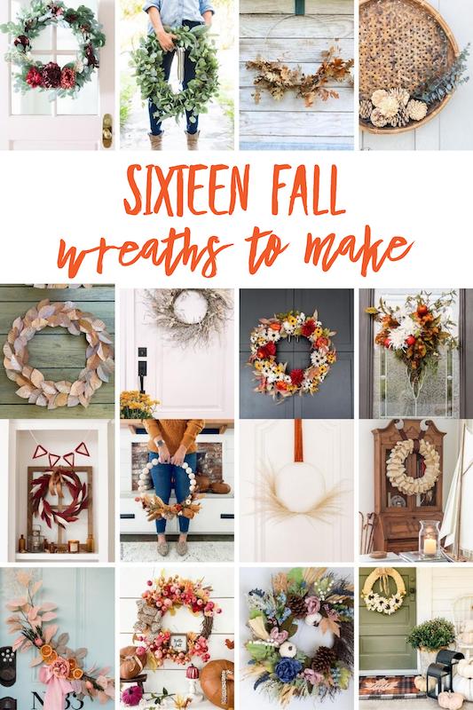 16 Fabulous Fall Wreaths to Make