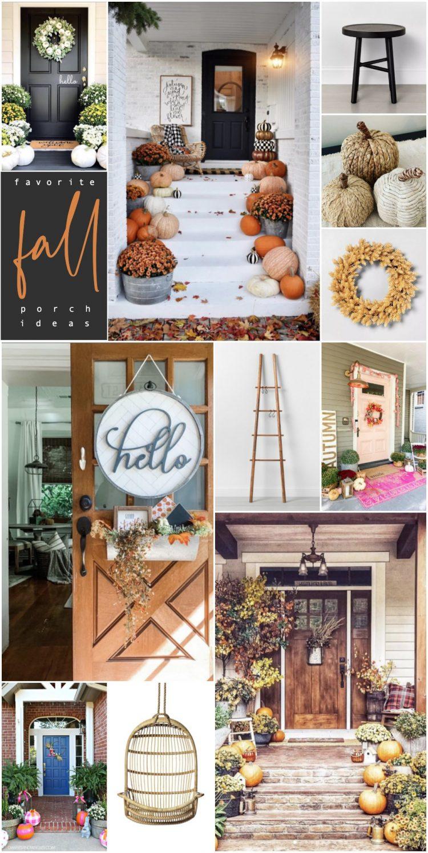 favorite fall porch ideas for autumn