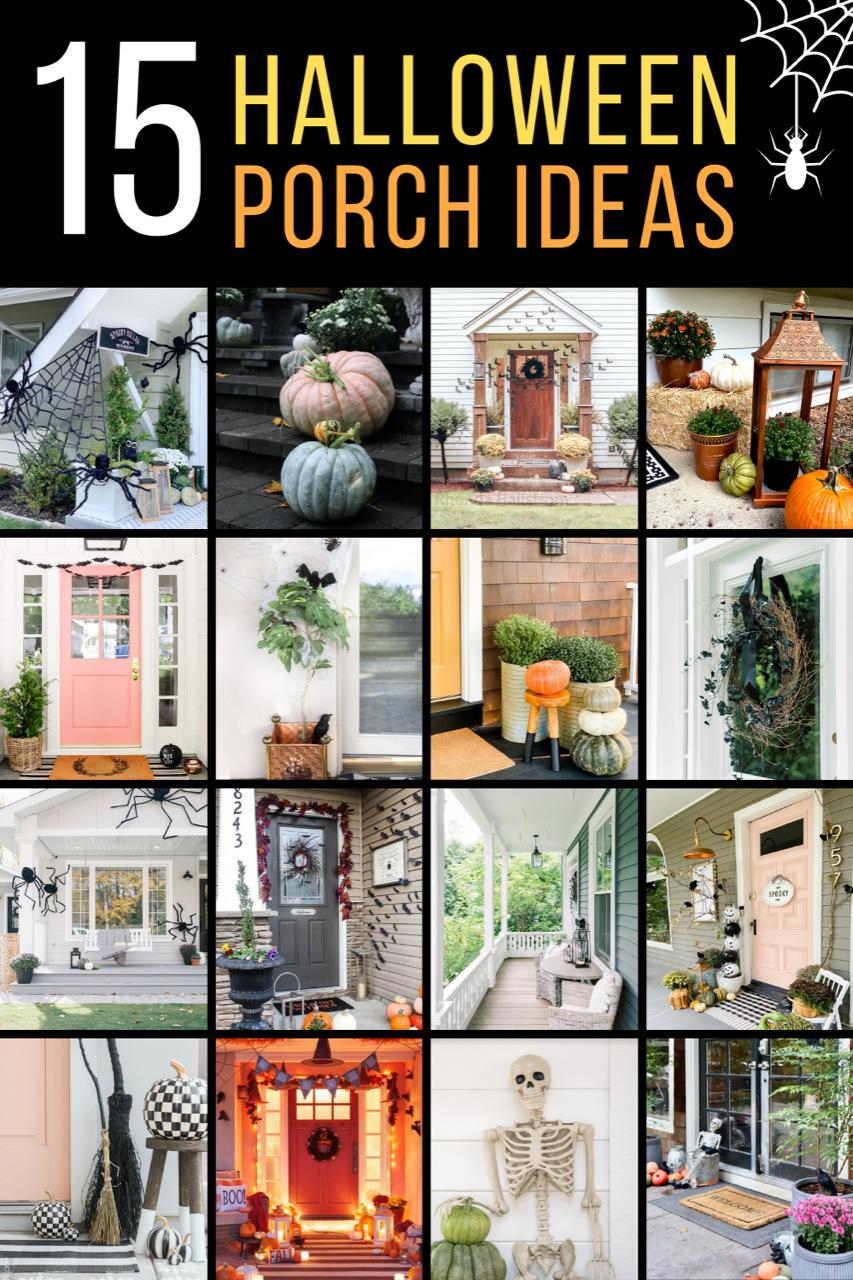15 Halloween Porch Ideas