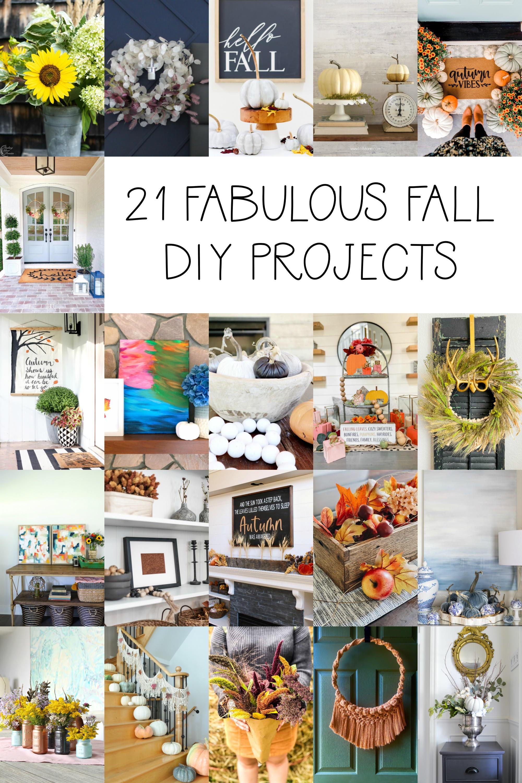 21 Fabulous Fall DIY Ideas