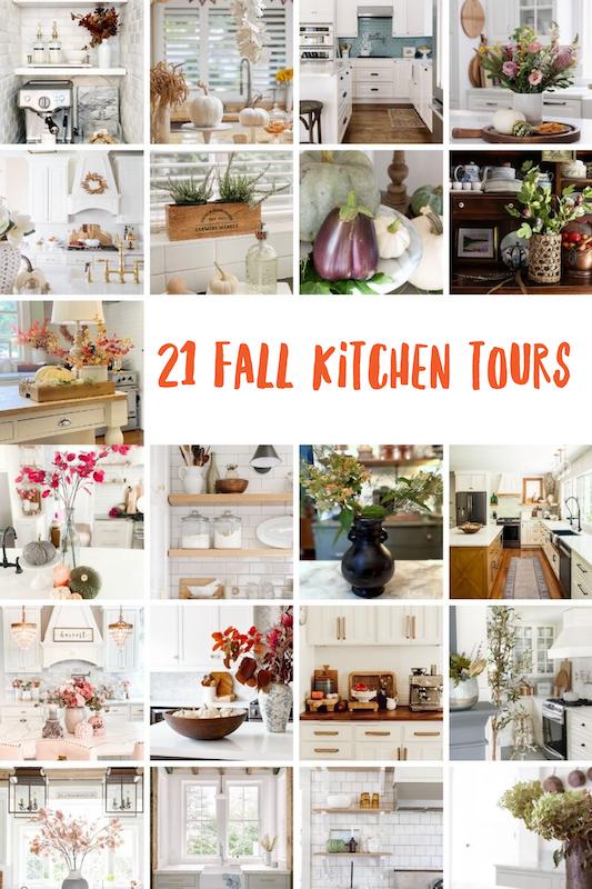 21 gorgeous fall kitchen home tours.