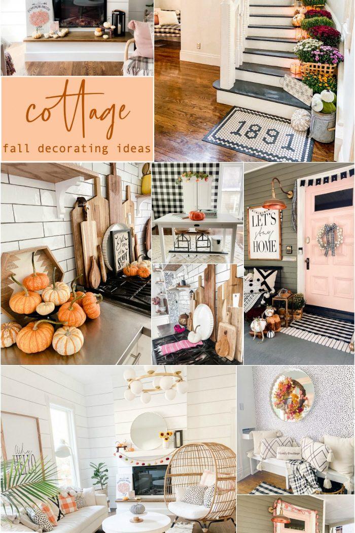 Boho Cottage Colorful Fall Home Tour