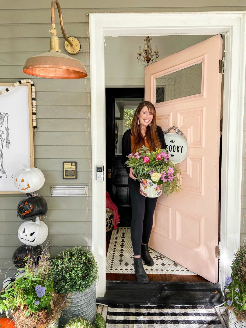 Ways to Bring Color into Your Cottage Home for Fall. Bring BRIGHT colors into your Fall home with colorful accessories, rugs and natural elements!