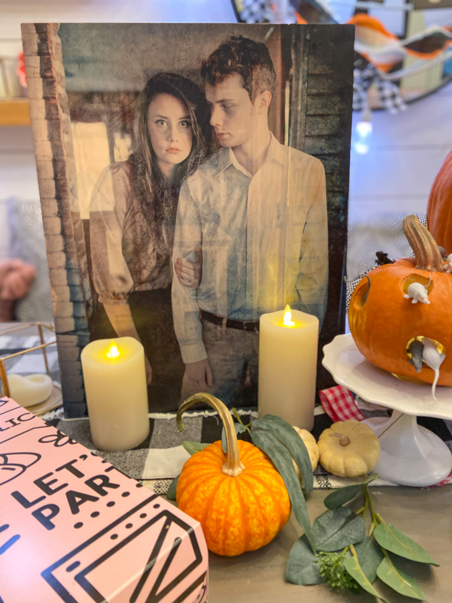 DIY The Witch Mice Pumpkins and Free Printable! Celebrate the new Ronald Dahl movie - The Witches by making Mice Pumpkins and printing out the inspiring quote from the movie.