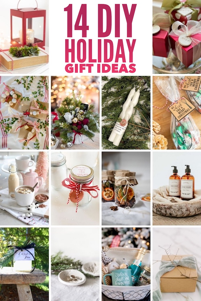 14 DIY Handmade holiday gift iddeas