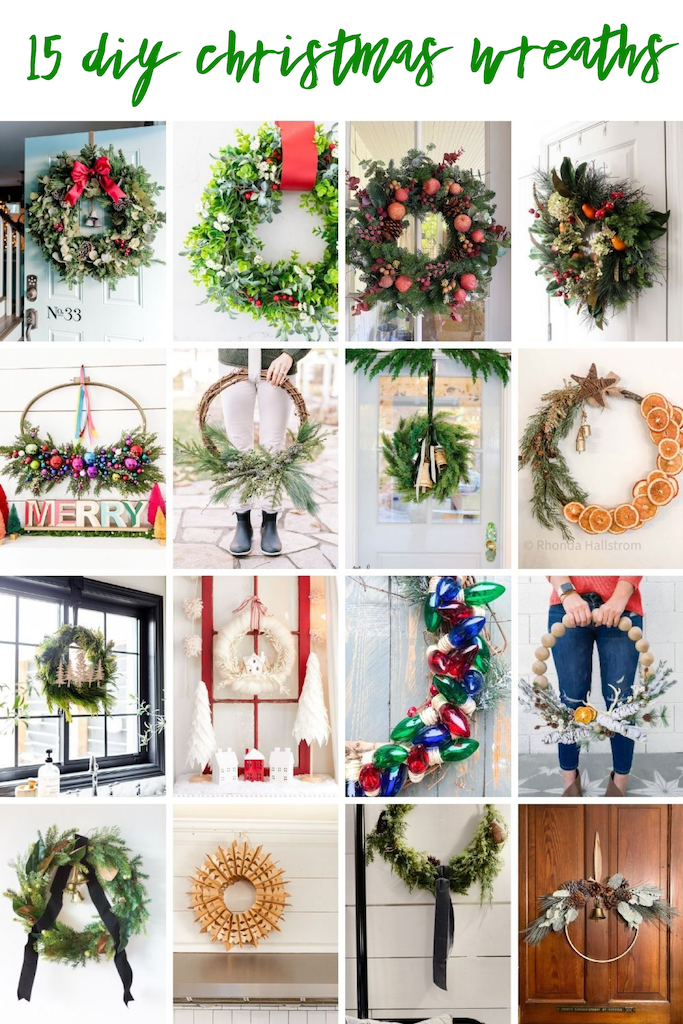 Colorful Holiday Embroidery Hoop Ornament Wreath. Create a stunning holiday wreath with inexpensive ornaments, faux greens and a simple embroidery hoop.
