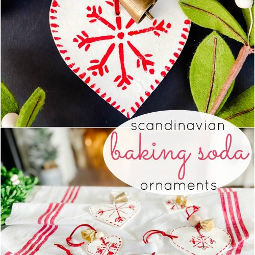 Baking SOda Scandinavian Ornaments