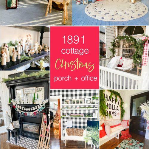 cottage christmas home tour