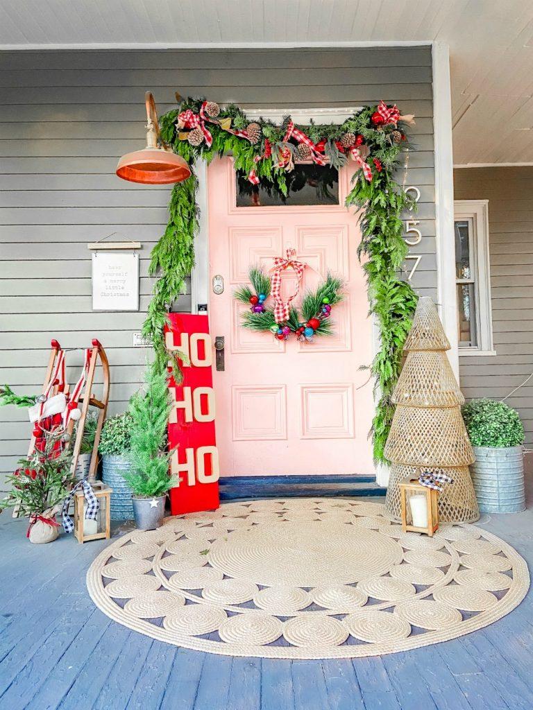 Boho Cottage Holiday Porch