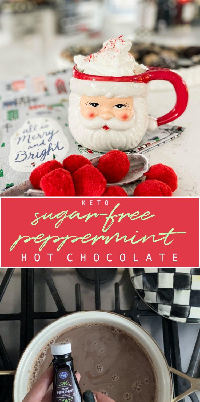KETO sugar-free hot chocolate recipe