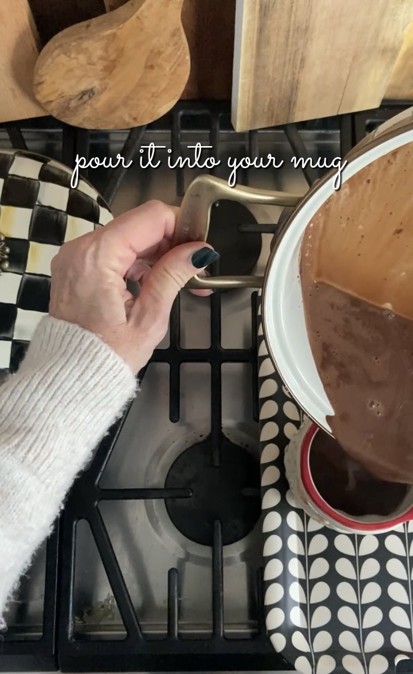 Keto Sugar Free Peppermint Hot Chocolate. Enjoy all of the winter peppermint and chocolate goodness without the sugar or carbs!