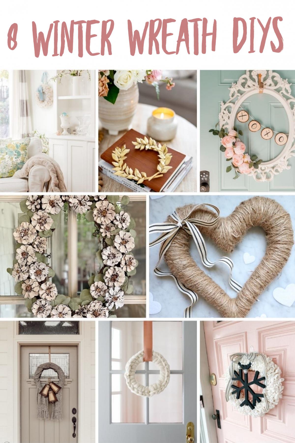 8 Winter Wreath Ideas
