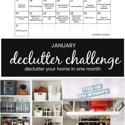 January 2021 Declutter Challenge