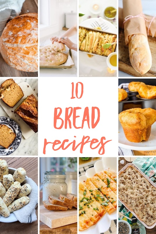 10 delicious bread #recipes #easyrecipes #foodideas #easycooking freshfood #mealplan #foodie #eat #hungry #homemade #yummy #dinnerideas #quickrecipes  ot make today!