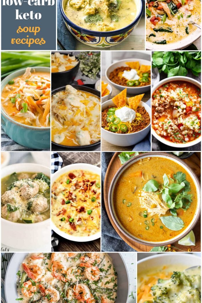16 Low-Carb Keto Soup Recipes Your Whole Family Will Love!