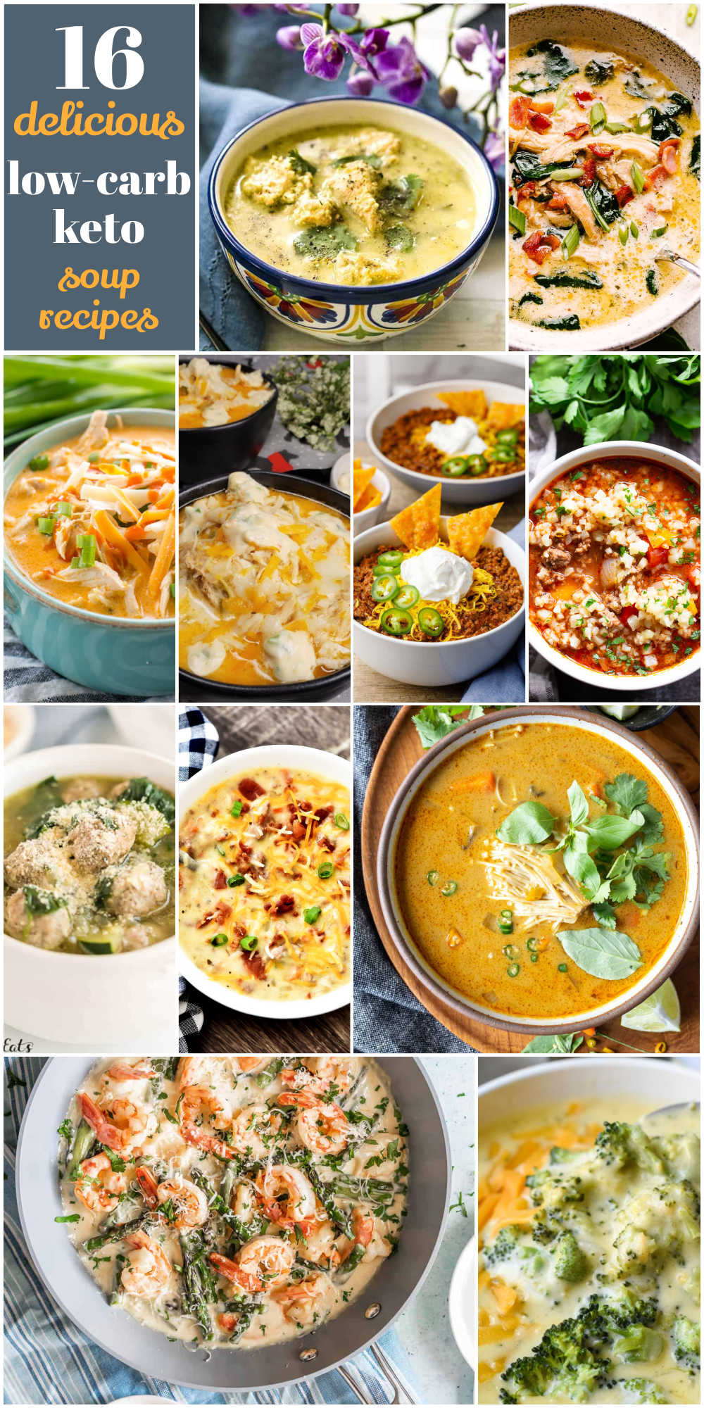 16 delicious low carb keto soup recipes