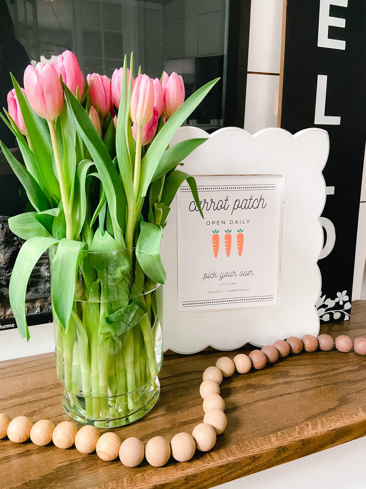 Cottage Farmhouse Spring Printables. Print off these spring printables and create some fresh spring vignettes in your home!