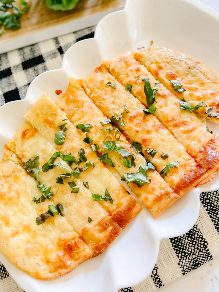 Low Carb Breadsticks Your Family Will Love