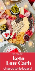 The Easiest Low-Carb Keto Charcuterie Board
