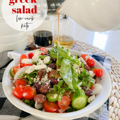Zesty Greek Keto Salad