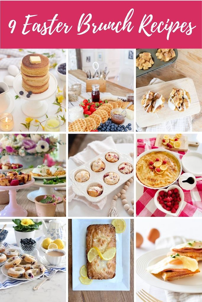 9 beautiful and delicious brunch #recipes #easyrecipes #foodideas #easycooking freshfood #mealplan #foodie #eat #hungry #homemade #yummy #dinnerideas #quickrecipes