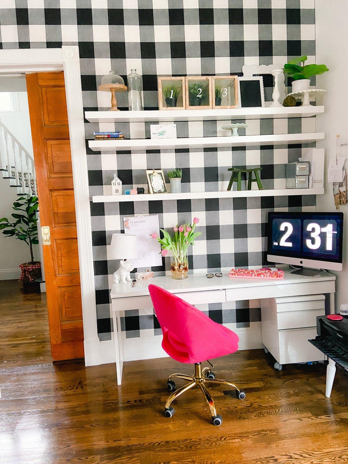 Spring Office Nook