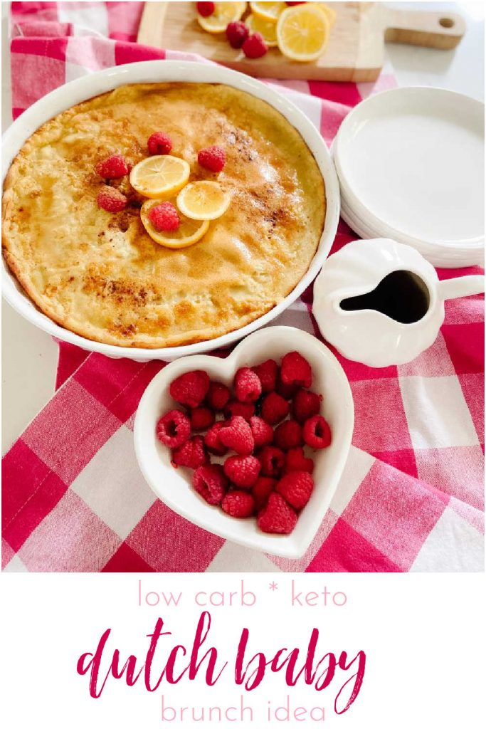 Lemon Berry Keto Dutch Baby Pancake. Stay on track with this low-carb keto pancake that has all of the flavor of the original. Perfect for Easter or Mother's Day brunch!