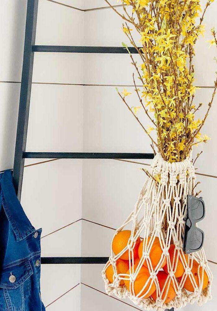 Make a Macrame Market Bag for Beginners!