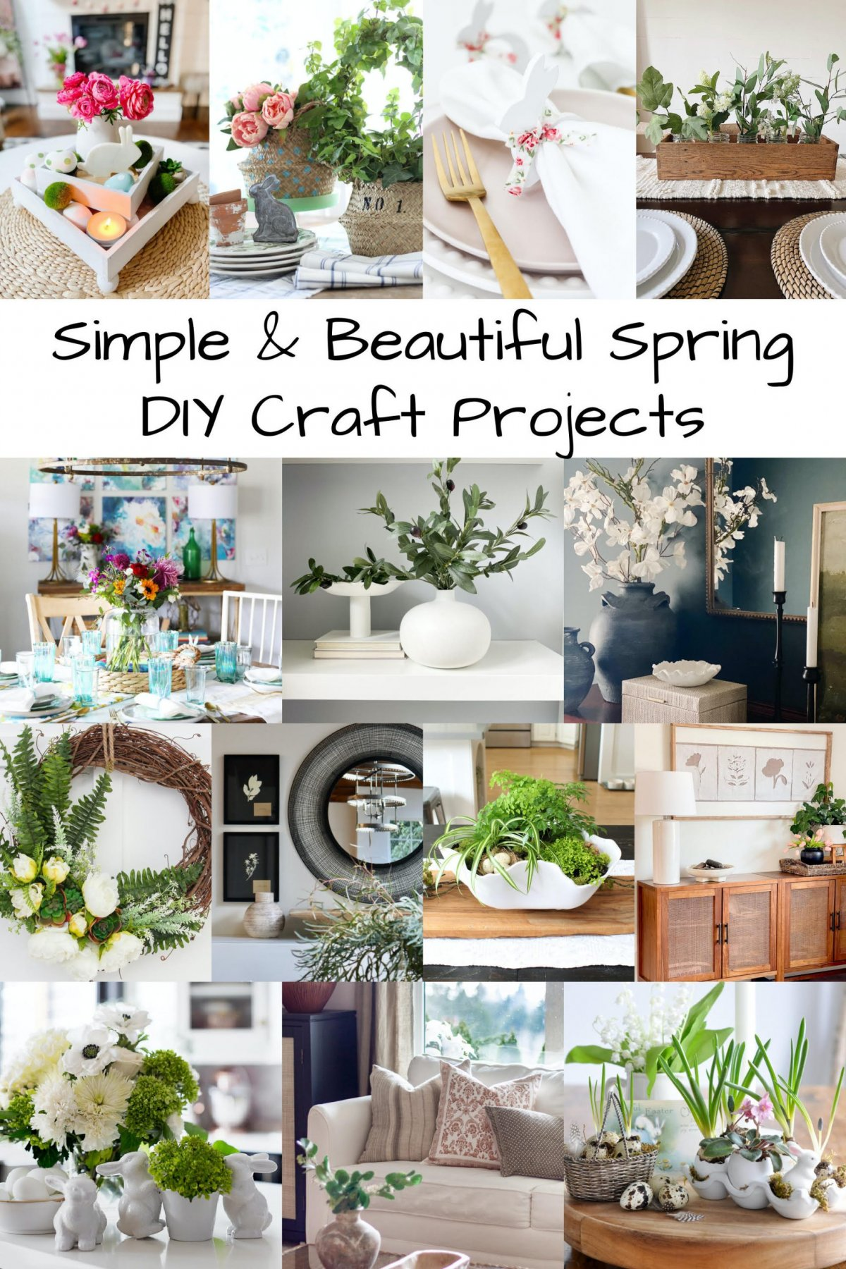 simple and beautiful DIY Spring Ideas
