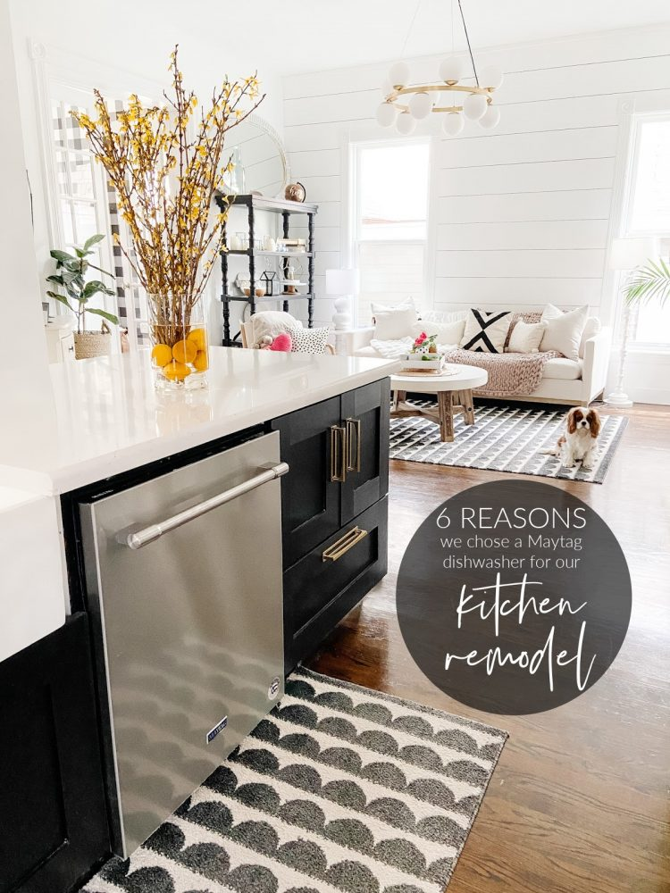 Six Reasons I chose a Matag Dishwasher for Our Kitchen Remodel