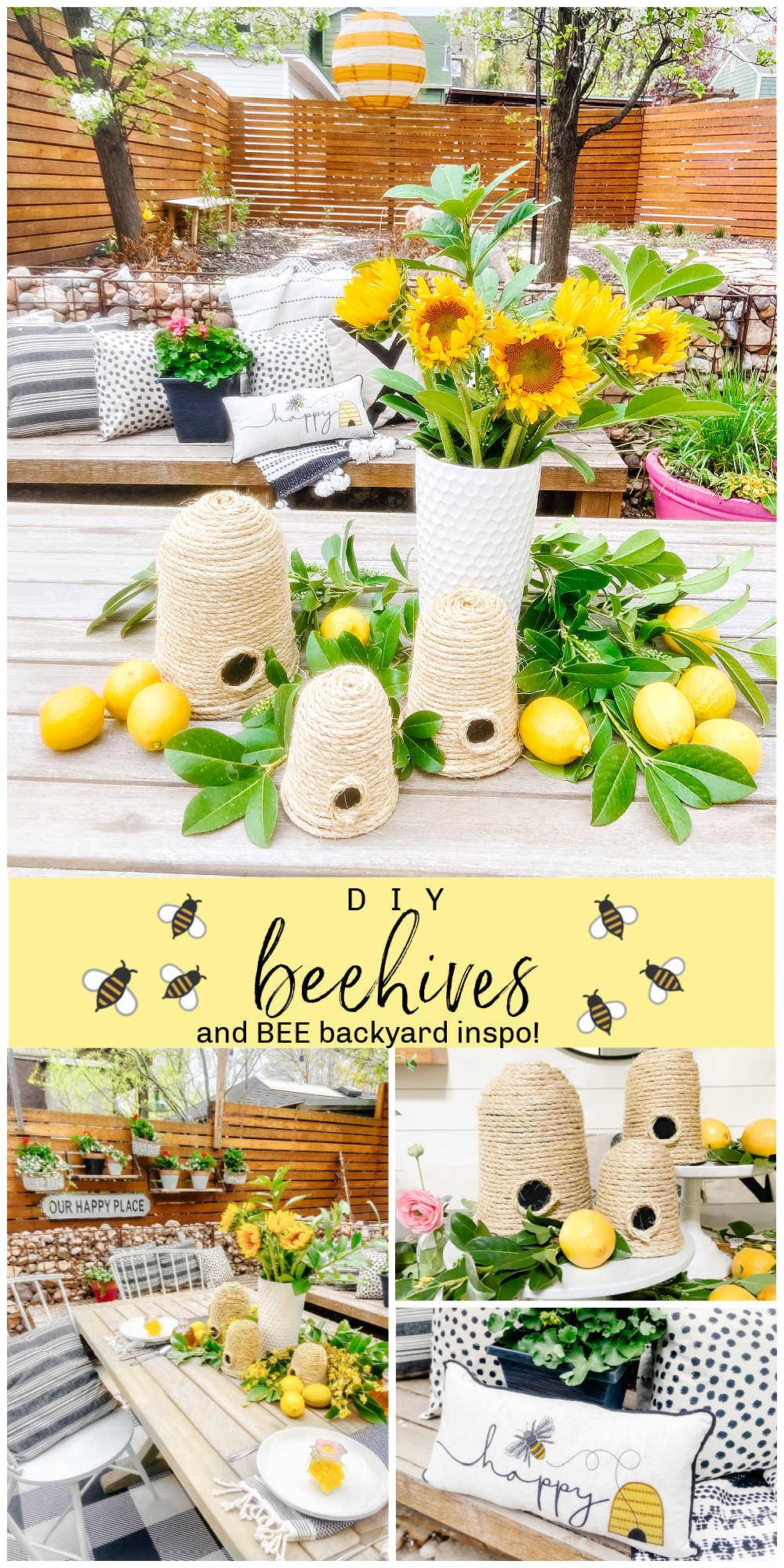 DIY Beehives and Backyard Inspo