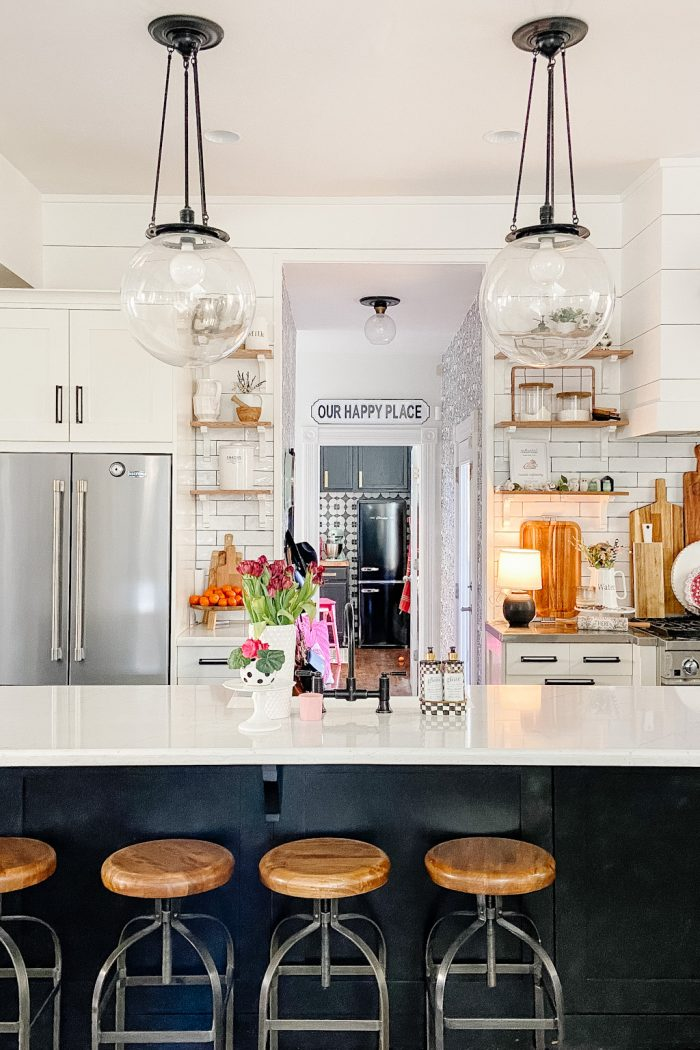 How to Change a Recessed Can Light into a Pendant Light with No Remodeling!
