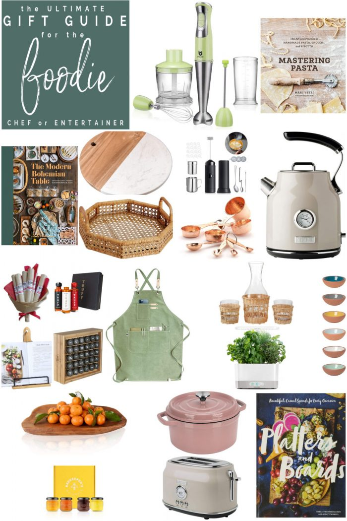 The Ultimate Gift Guide for the Foodie!