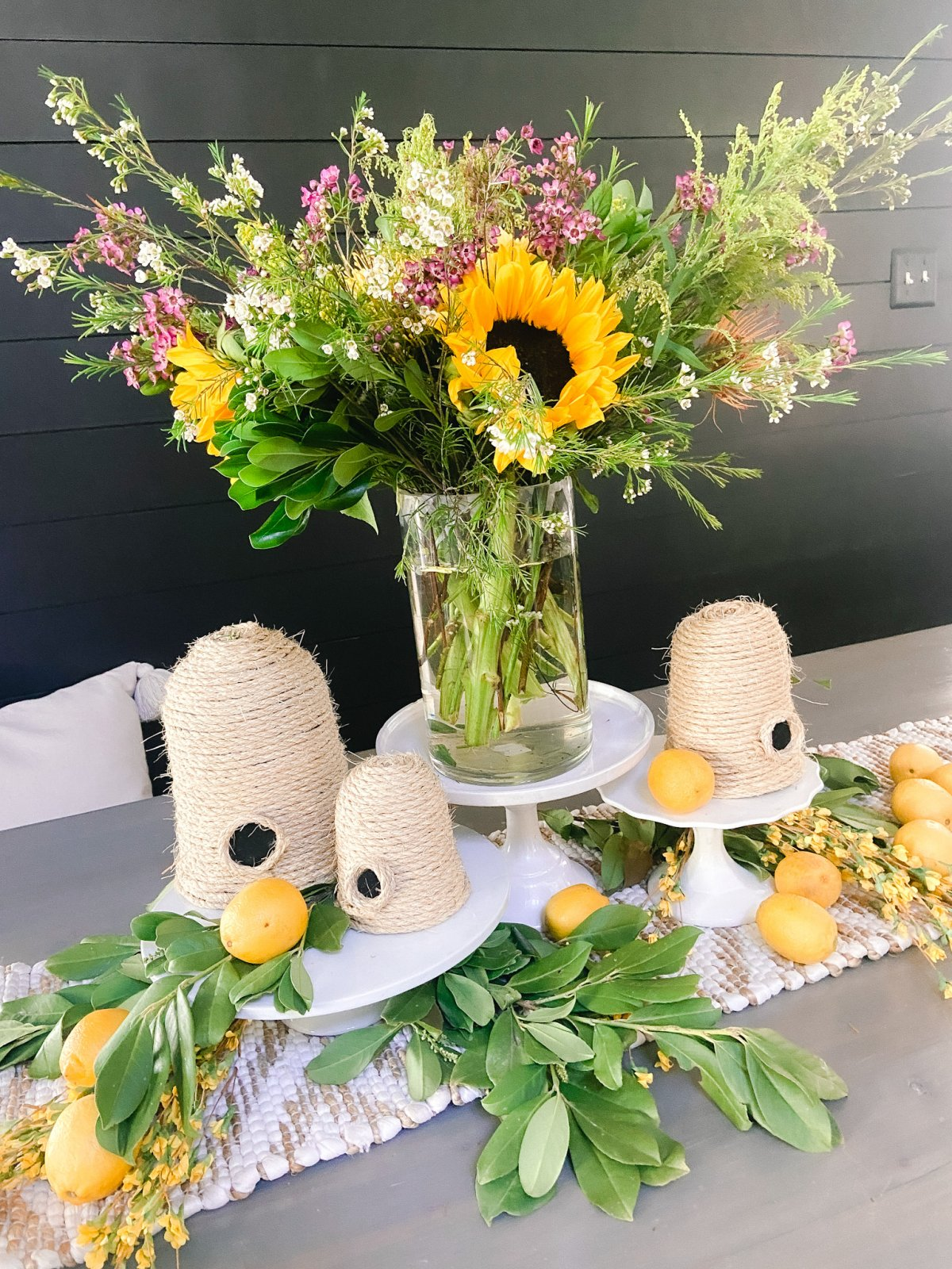 How to Arrange Summer Grocery Store Flowers. Grab an inexpensive bouquet at the store and transform it into a show stopping centerpiece.