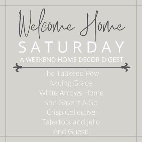 Saturday Welcome Home