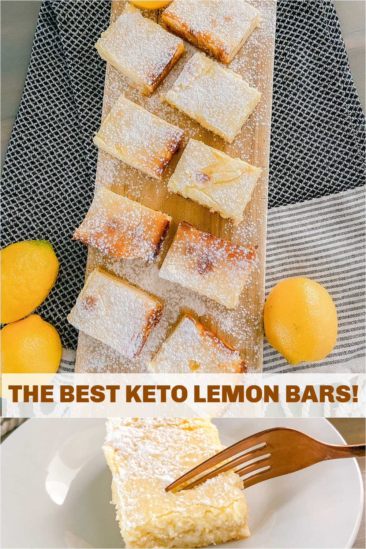 the best keto low-carb lemon bars