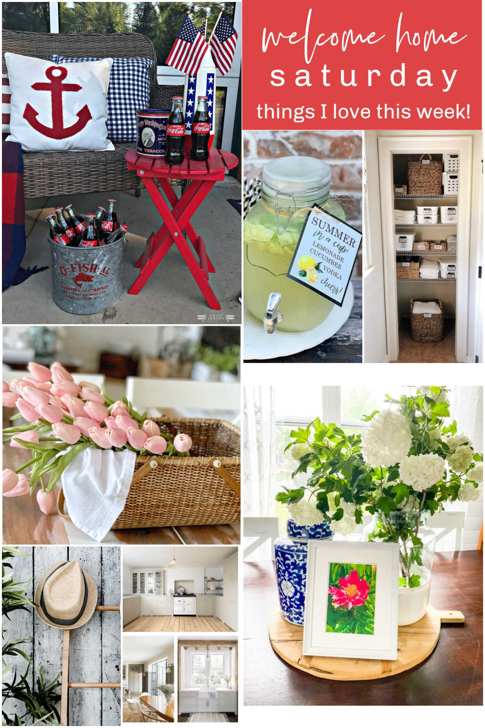 Welcome Home Saturday with Pasha is Home. Each Saturday I will share a few of my favorite things and some DIY ideas that I love!