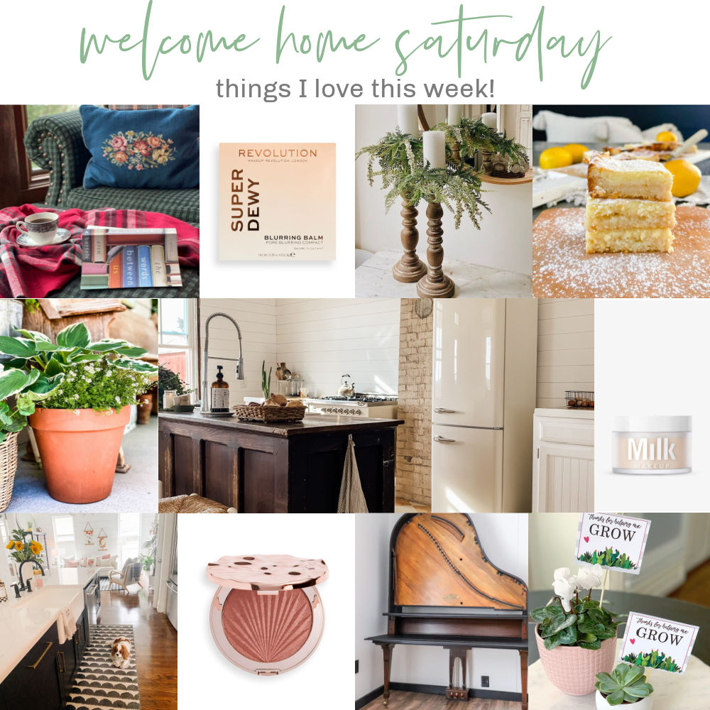 Welcome Home Saturday! Where I share things I love this week and DIY project ideas!