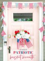 10-Minute Patriotic Basket Wreath