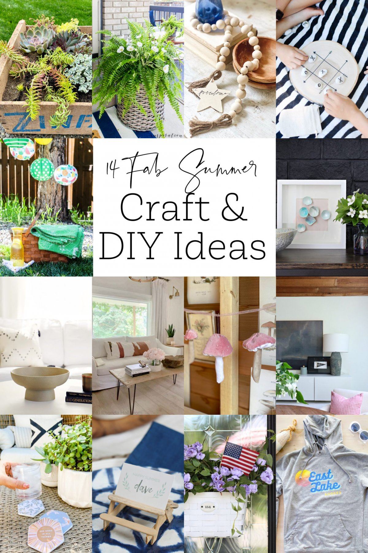 14 Summer DIY Projects