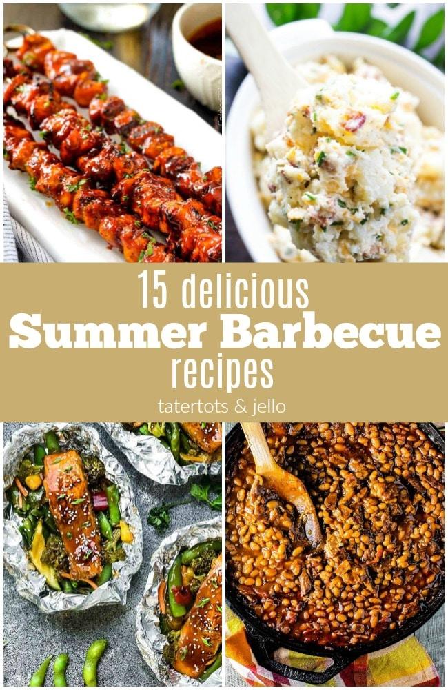 15 deicious summer BBQ recipes