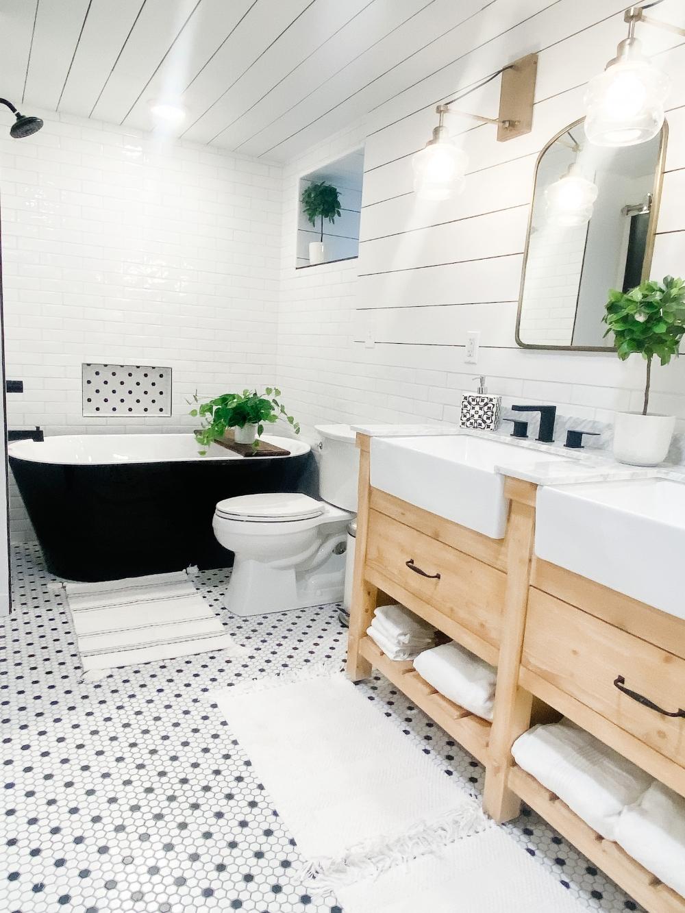 Airbnb bathroom remodel