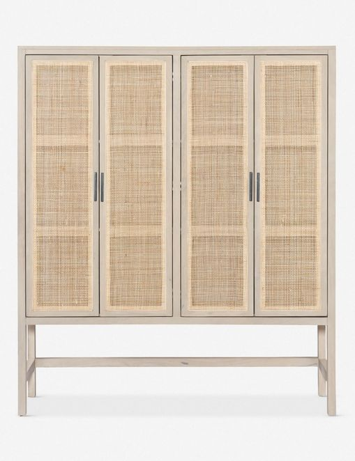 Hannah Natural rattan cabinet