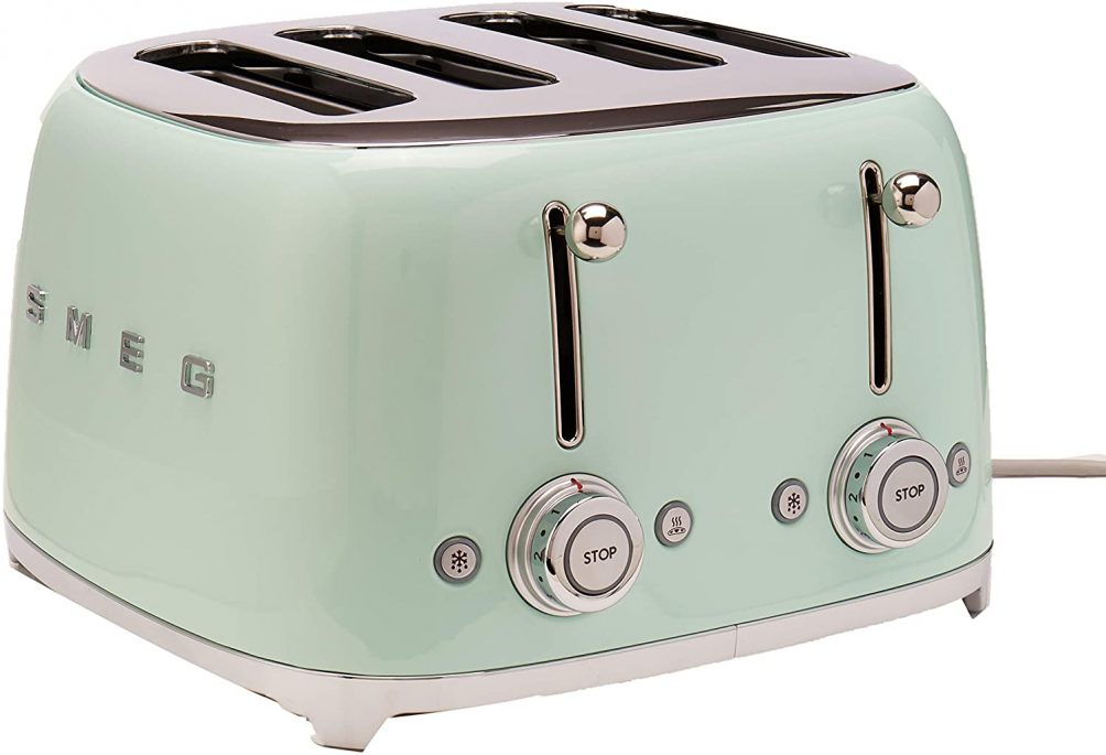 The prettiest SMEG toaster will brighten up any kitchen!