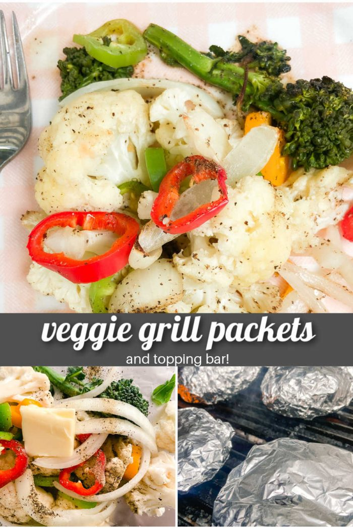 Vegetable Grill Packets and Topping Bar
